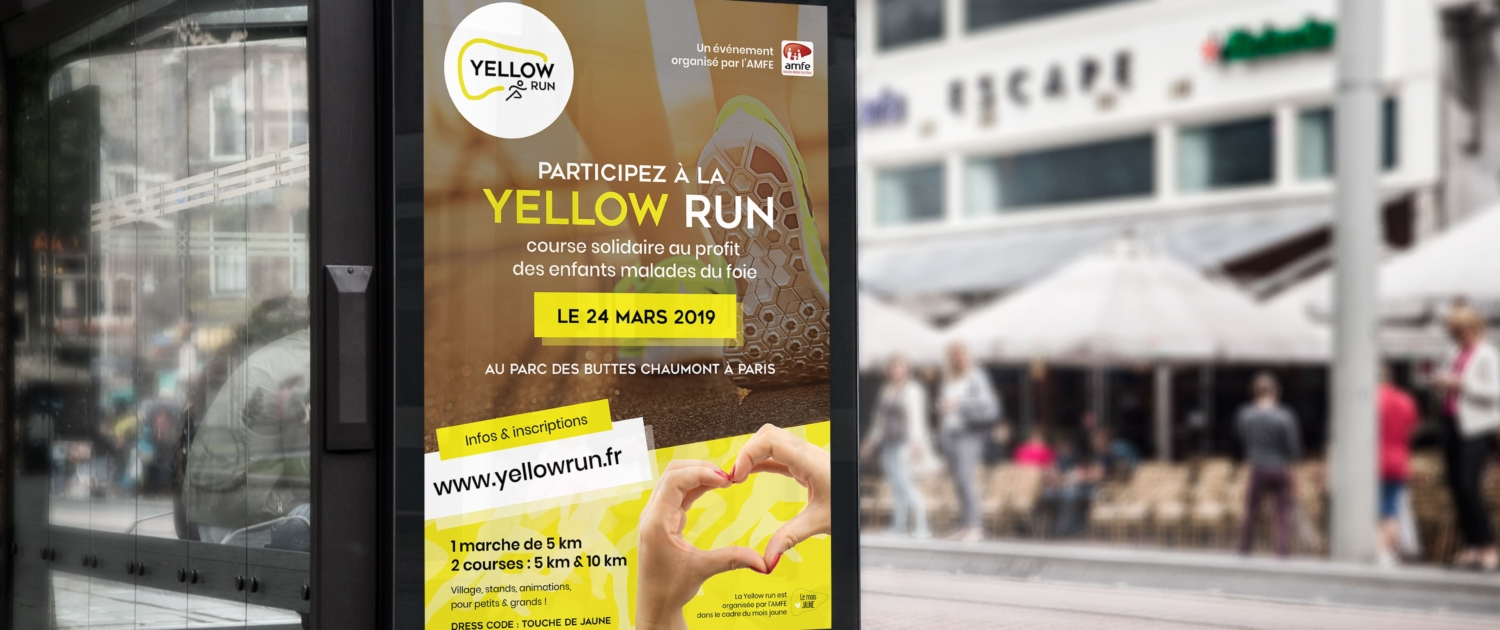 graphiste-montpellier-paris-publicite-evenement-paris-course-solidaire-amfe-yellow-run
