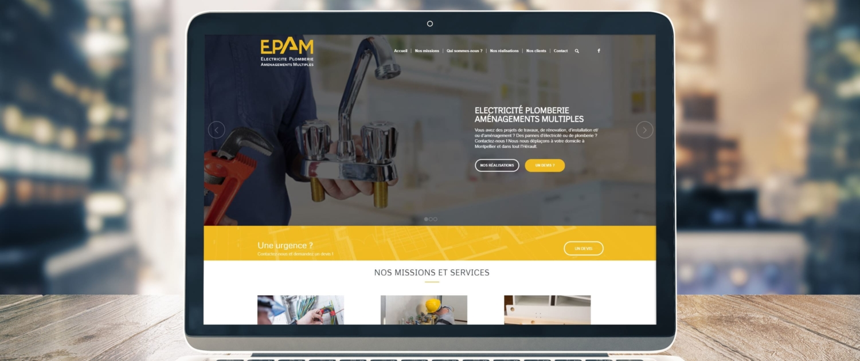 site-internet-epam-travaux-webdesigner-montpellier