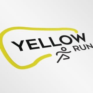 Création logo Yelloh Run - course solidaire organisée par l'amfe à Paris #creationlogo #logosport #running #logo #designer #design #graphisme #graphicdesign #graphistefreelance #graphiste